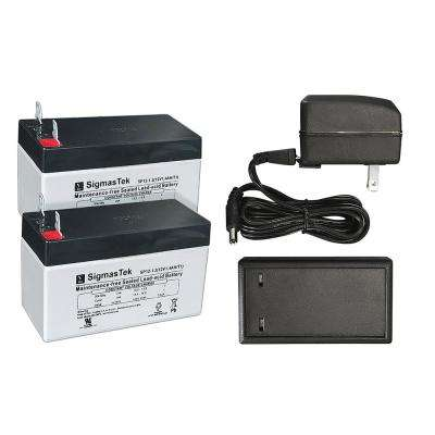 2-Battery Charger Kit for Fully Automatic Power Pet Doors