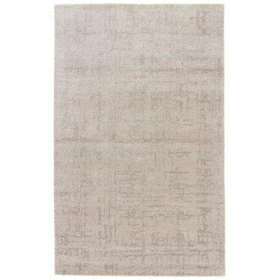 Gray Morn 5 ft. x 8 ft. Abstract Area Rug