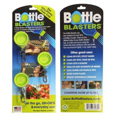 Bottle Blasters Water Bottle Shower Cap (3-Pack)