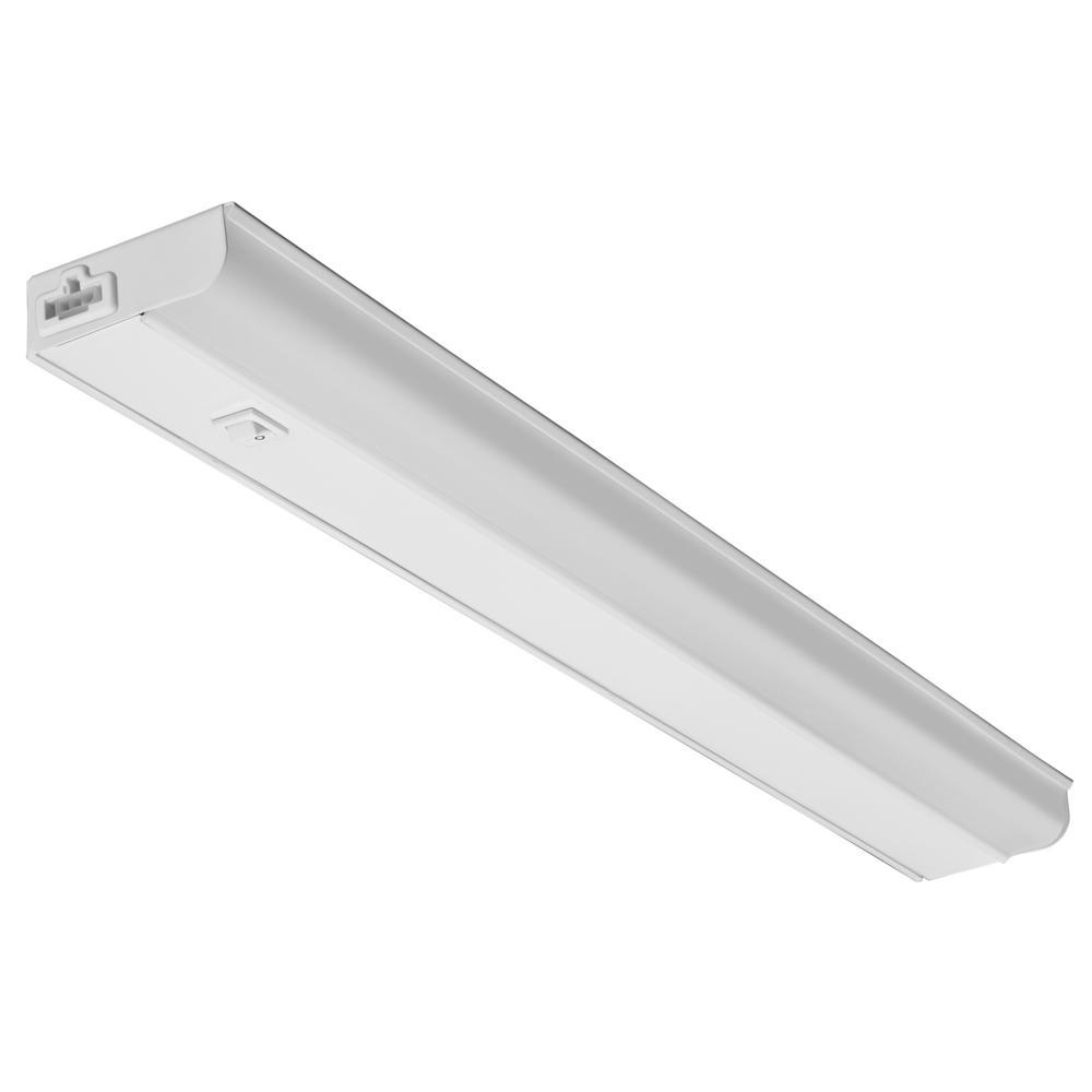 LITHONIALIGHTING Lithonia Lighting UCEL 12 in. LED White Linkable Under Cabinet Light