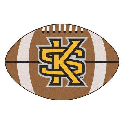 NCAA Kennesaw State University Brown 2 ft. x 3 ft. Specialty Area Rug