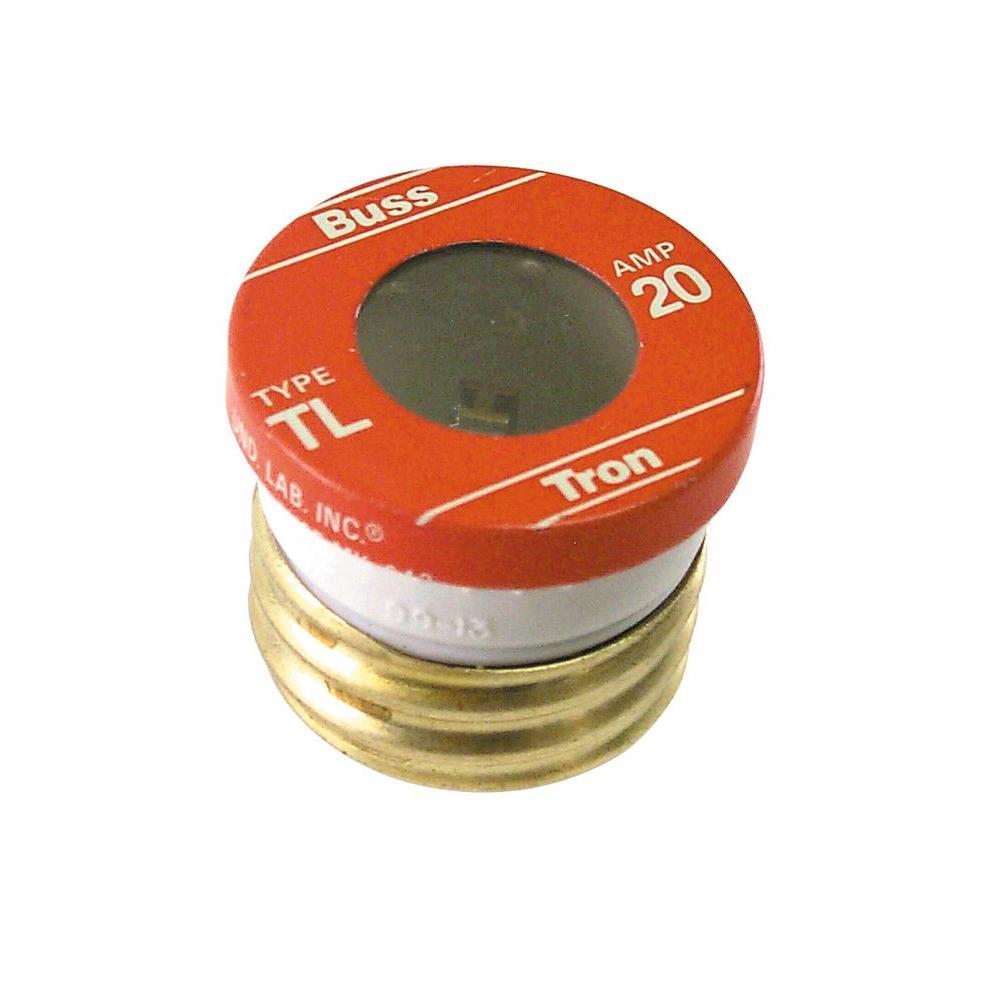 TL Style 20 Amp Plug Fuse (4-Pack)