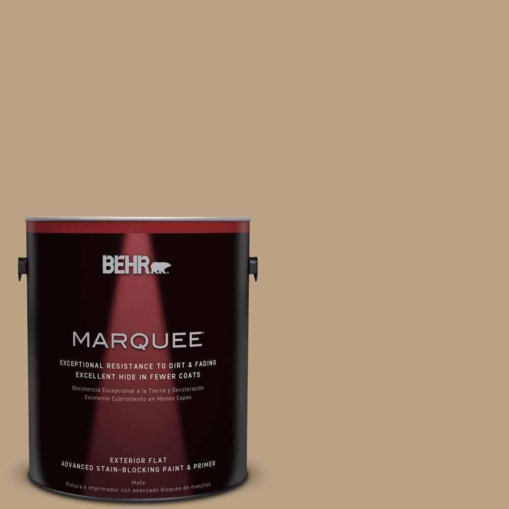 BEHR MARQUEE Home Decorators Collection 1-gal. #HDC-CT-07 Country Cork Flat Exterior Paint