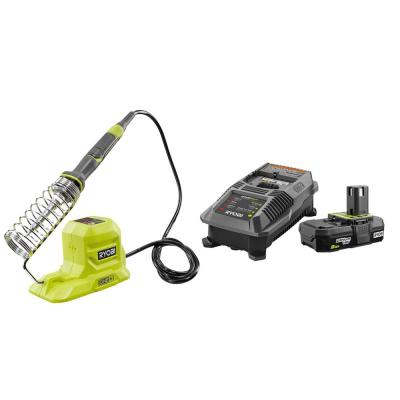 18-Volt ONE+ 40-Watt Soldering Iron with 2.0 Ah Battery and Charger Kit