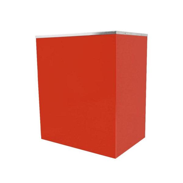 Paragon Classic Pop Red Popcorn Stand for 14 oz. Paragon Popcorn