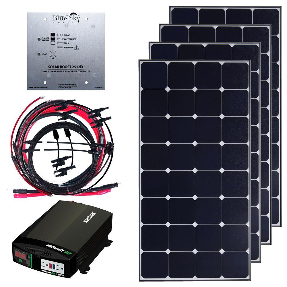 Grape Solar 400-Watt Deluxe Off Grid Kit-DISCONTINUED