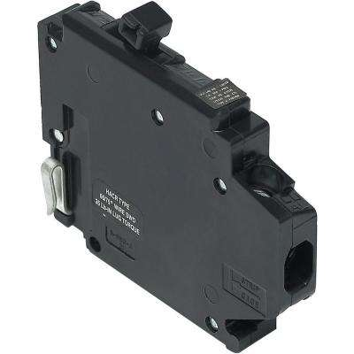 New Challenger 20A 1/2 in. 1-Pole Type A Replacement Left Clip Thin Circuit Breaker