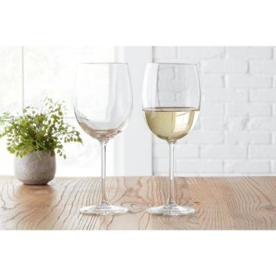 StyleWell 19 oz. White Wine Glasses (Set of 4)