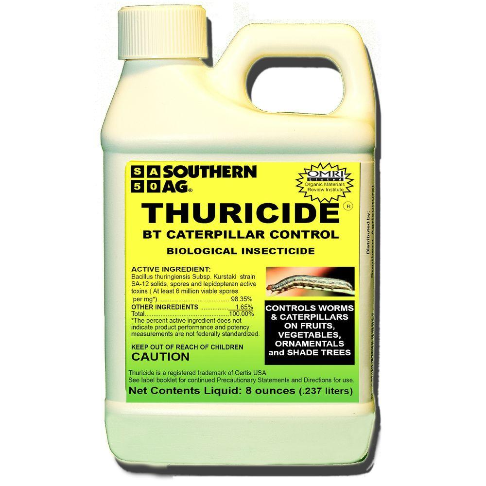 Southern Ag 8 Oz Thuricide Bt Caterpillar Control Concentrate