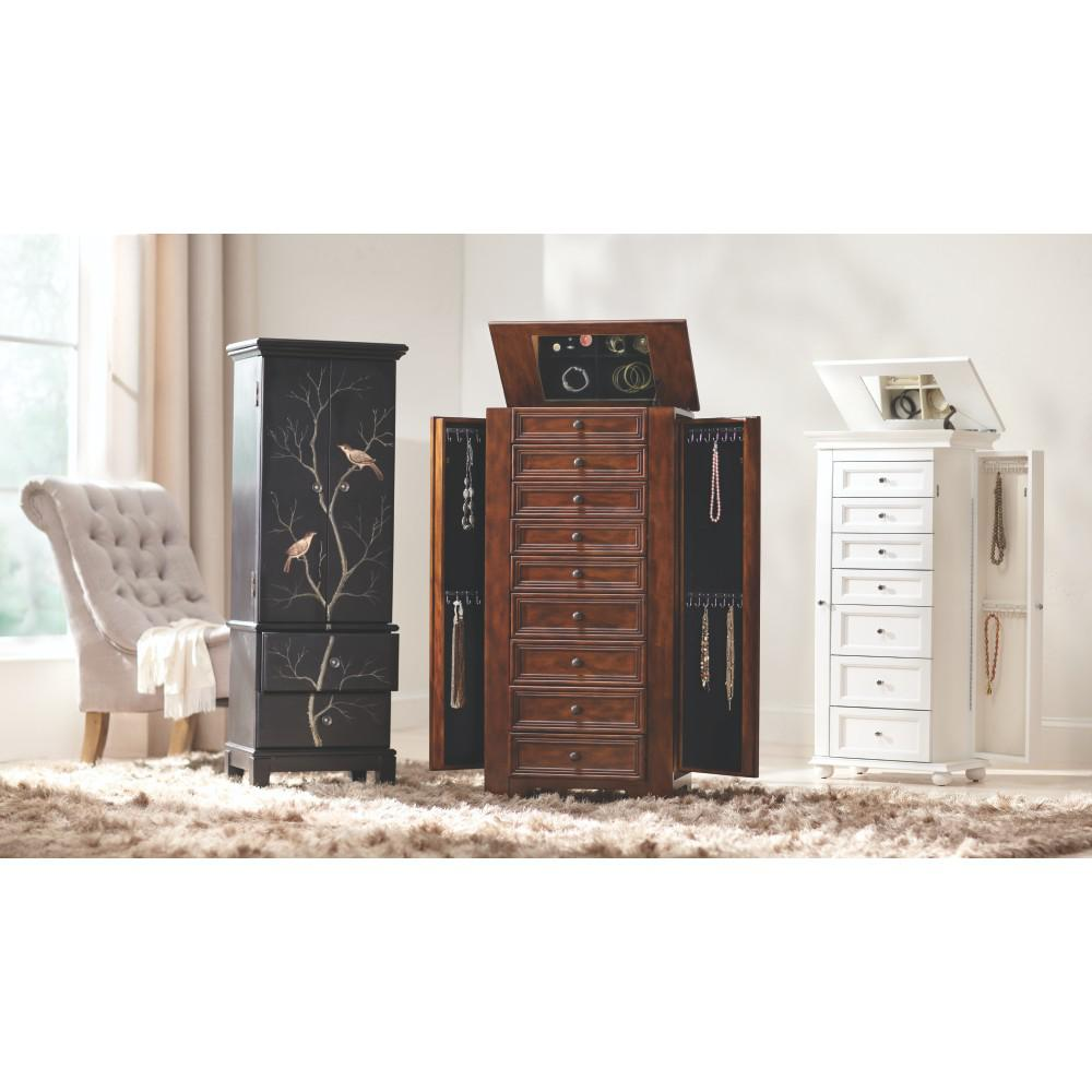 large jewelry armoire jewelry box jewelry chest jewelry armoire shabby chic jewelry box. Black Bedroom Furniture Sets. Home Design Ideas
