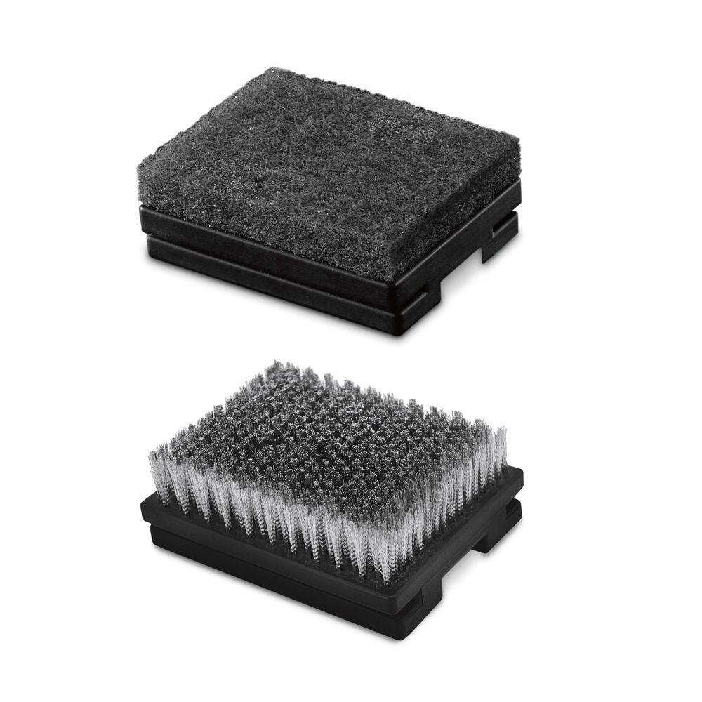 Weber Heavy-Duty Grill Brush Replacement Heads (2-Pack)-DISCONTINUED