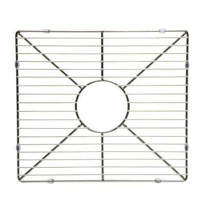 ABGR3918 16.5 in. Grid for Kitchen Sinks AB3618DB-W, AB3618ARCH-W in Brushed Stainless Steel