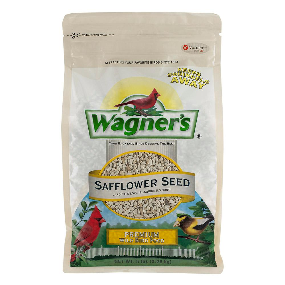 wagner u0027s 5 lb safflower seed wild bird food 57075 the home depot