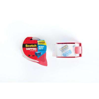 1.88 in. x 54.6 yds. Heavy-Duty Shipping Packaging Tape with Dispenser