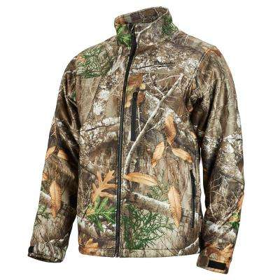 Men's X-Large M12 12-Volt Lithium-Ion Cordless RealTree Camo Heated Jacket Kit with (1) 2.0Ah Battery and Charger