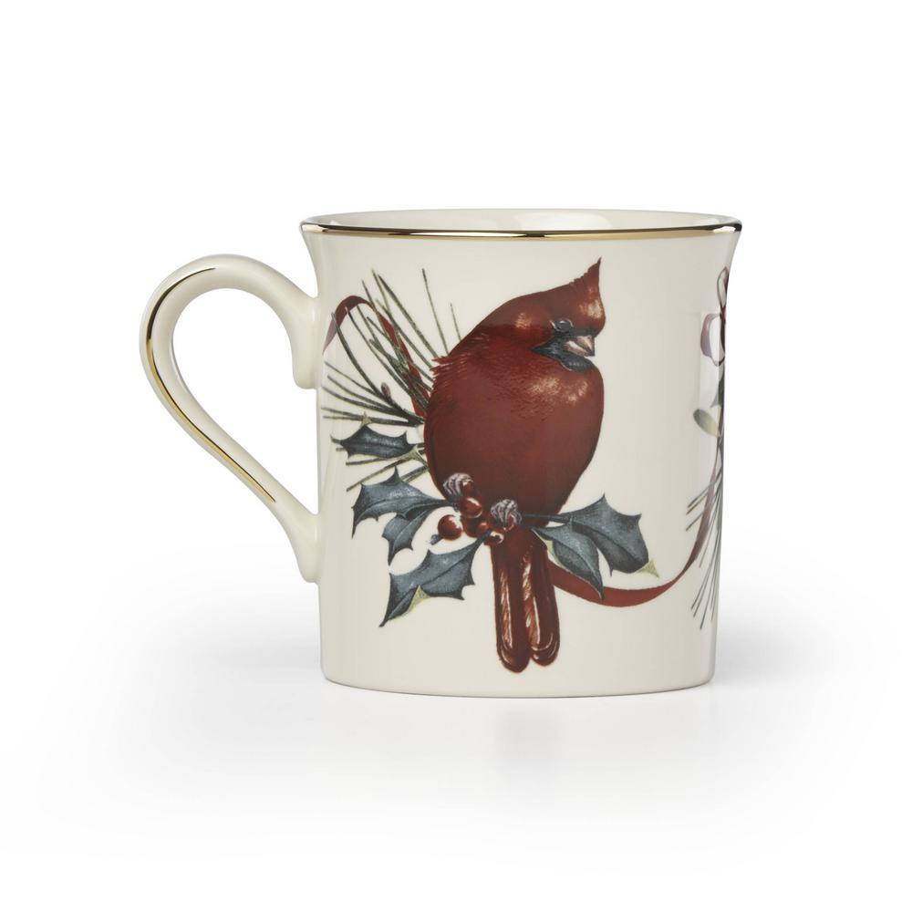 Winter Greetings 12 oz. Cardinal Mug