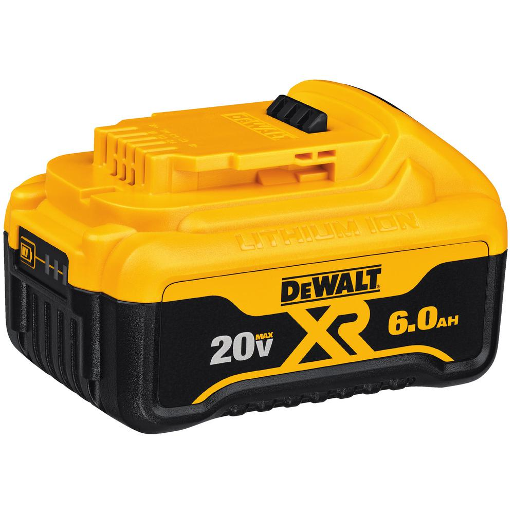 DeWALT Black And Decker DWDCB206 20V Max Premium XR 6.0Ah Lithium Ion Premium Battery