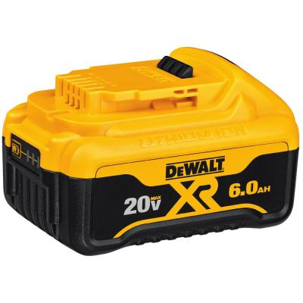 20-Volt MAX XR Lithium-Ion Premium Battery Pack (1) 6.0Ah Battery, (1) 4.0Ah Battery & (1) 2.0Ah Battery