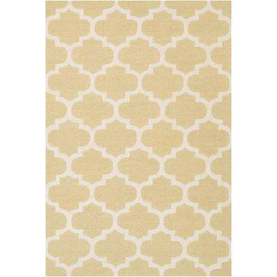 Pollack Stella Gold 5 ft. x 8 ft. Indoor Area Rug