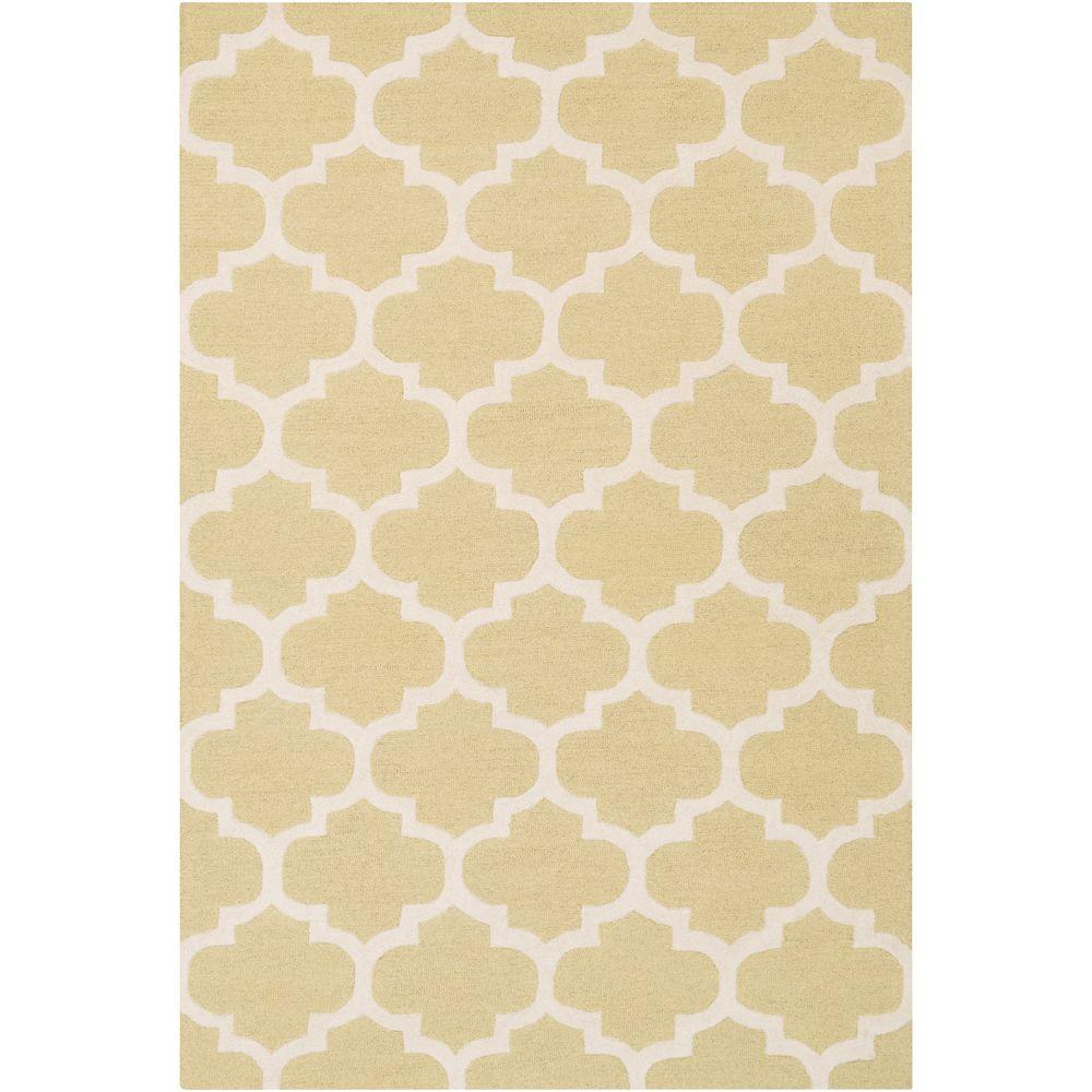 Pollack Stella Gold 8 ft. x 11 ft. Indoor Area Rug