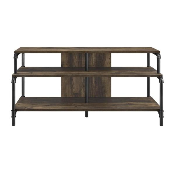 Ameriwood Chesterfield Rustic 55 in. TV Stand