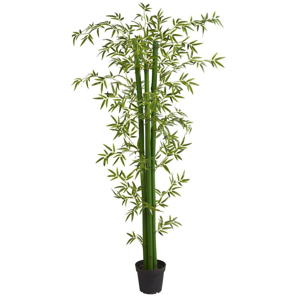 Indoor 8 ft. Bamboo Artificial Tree