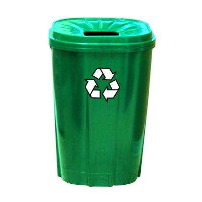 55 Gal. Green Recycling Bin