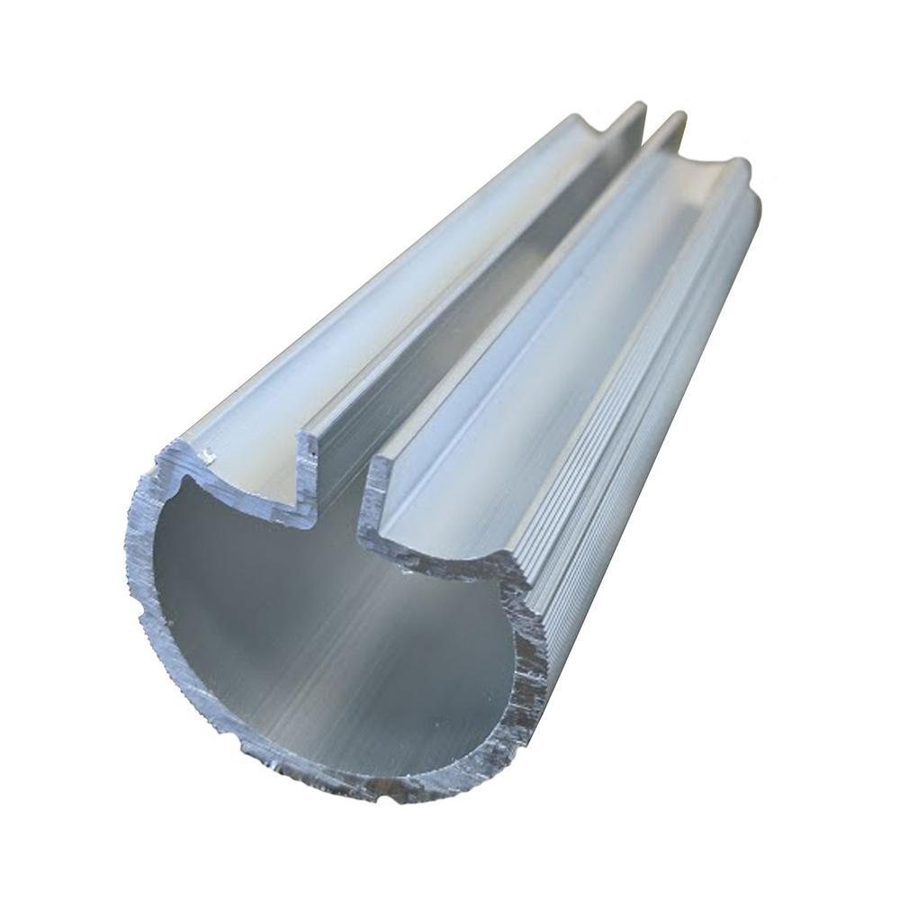 1.9 in. Aluminum Round ADA Handrail 3 in. Internal Splice
