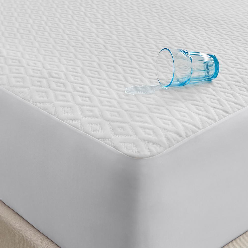 King Size ks Mattress Protector King Size Style-1 Waterproof Soft Plastic-Mattress Cover
