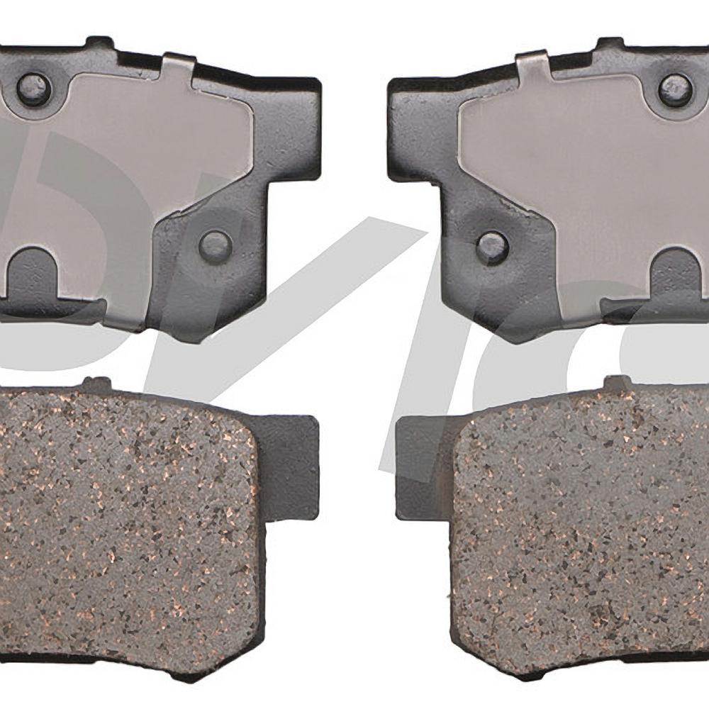 2007-2013 Suzuki SX4 Front Rotors w//Ceramic Pads OE Brakes