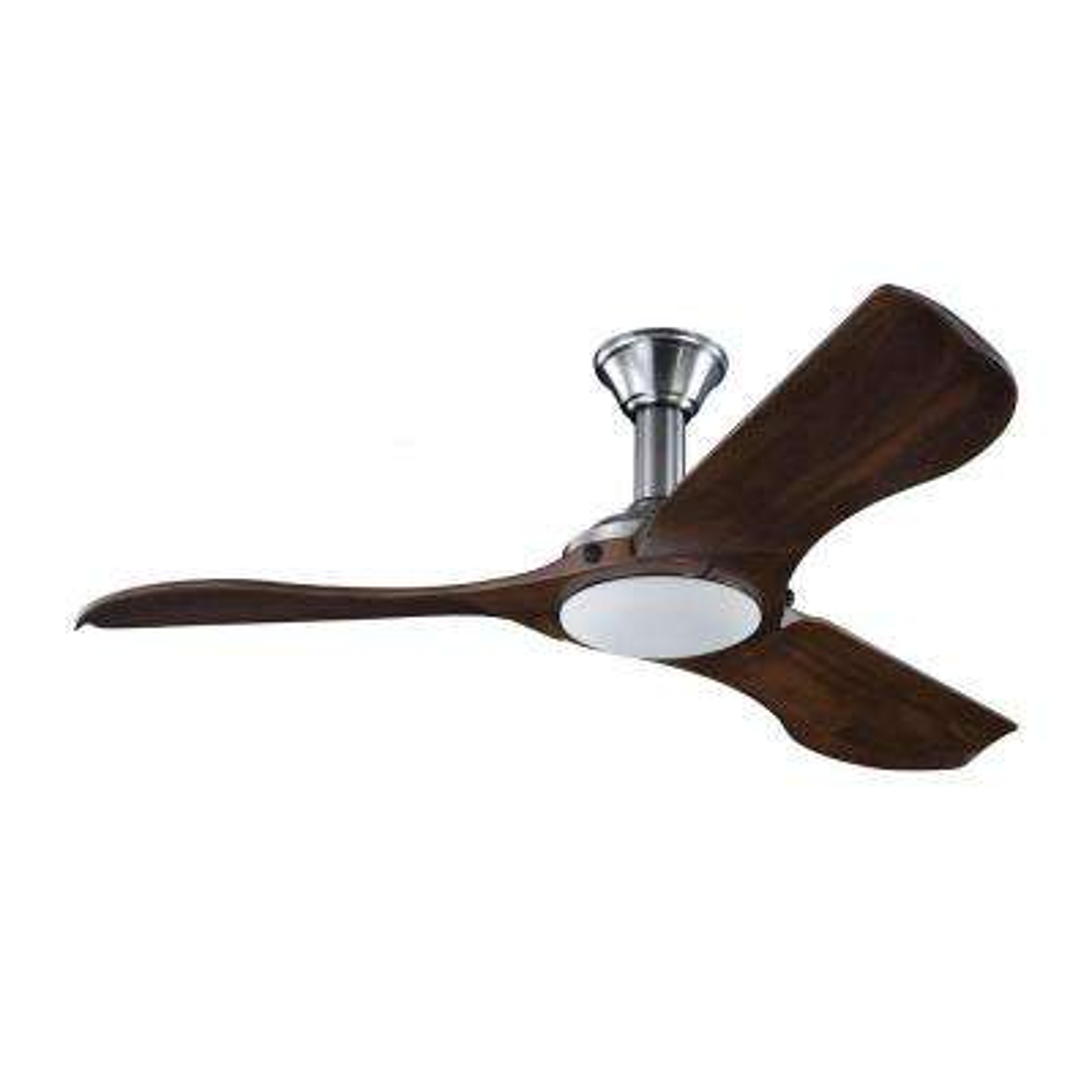 Minimalist 56 in. Brushed Steel Ceiling Fan
