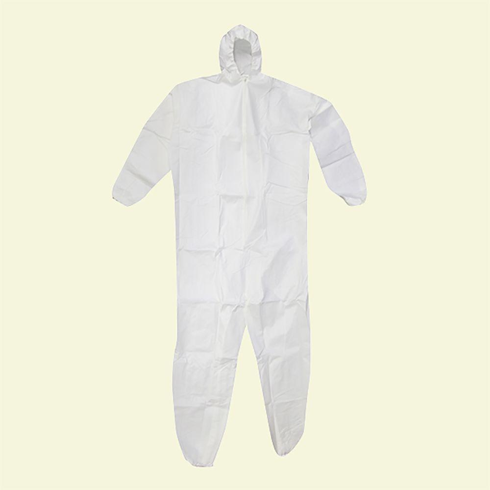 null Extra Large Heavy Duty Coverall With Hood