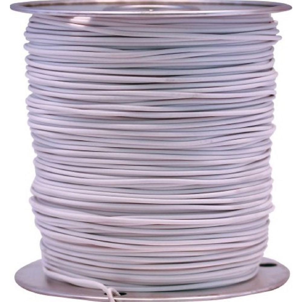 1000 ft. 12 White Stranded CU GPT Primary Auto Wire