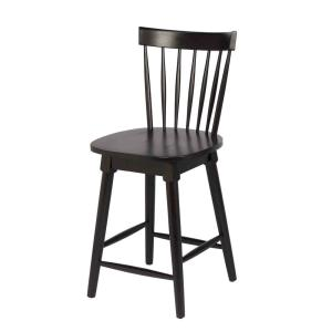 Fabulous Craft Main Elise 24 In Black Counter Height Swivel Bar Squirreltailoven Fun Painted Chair Ideas Images Squirreltailovenorg
