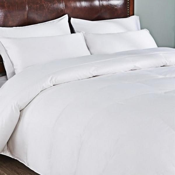 Extra Warmth White King Goose Down Comforter