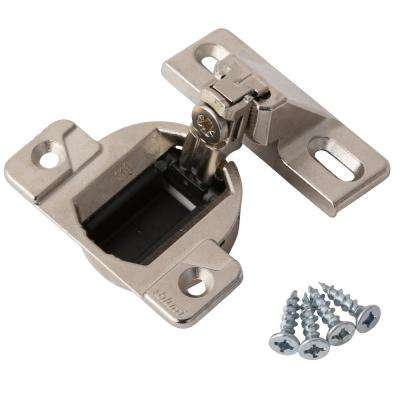 Blum 1/2 in  Overlay Frame Cabinet Hinges (2-Pack)