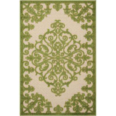 Green - 3 X 4 - Outdoor Rugs - Rugs - The Home Depot