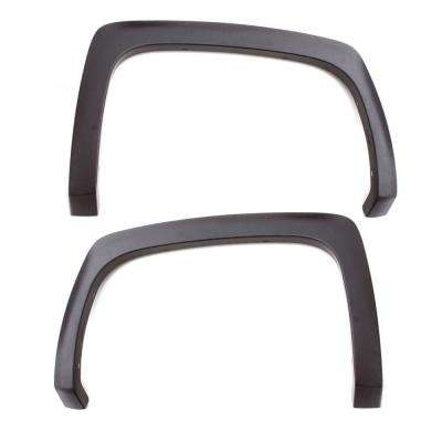 Sport Style Fender Flare Set - Rear, Smooth, 2-Piece Set