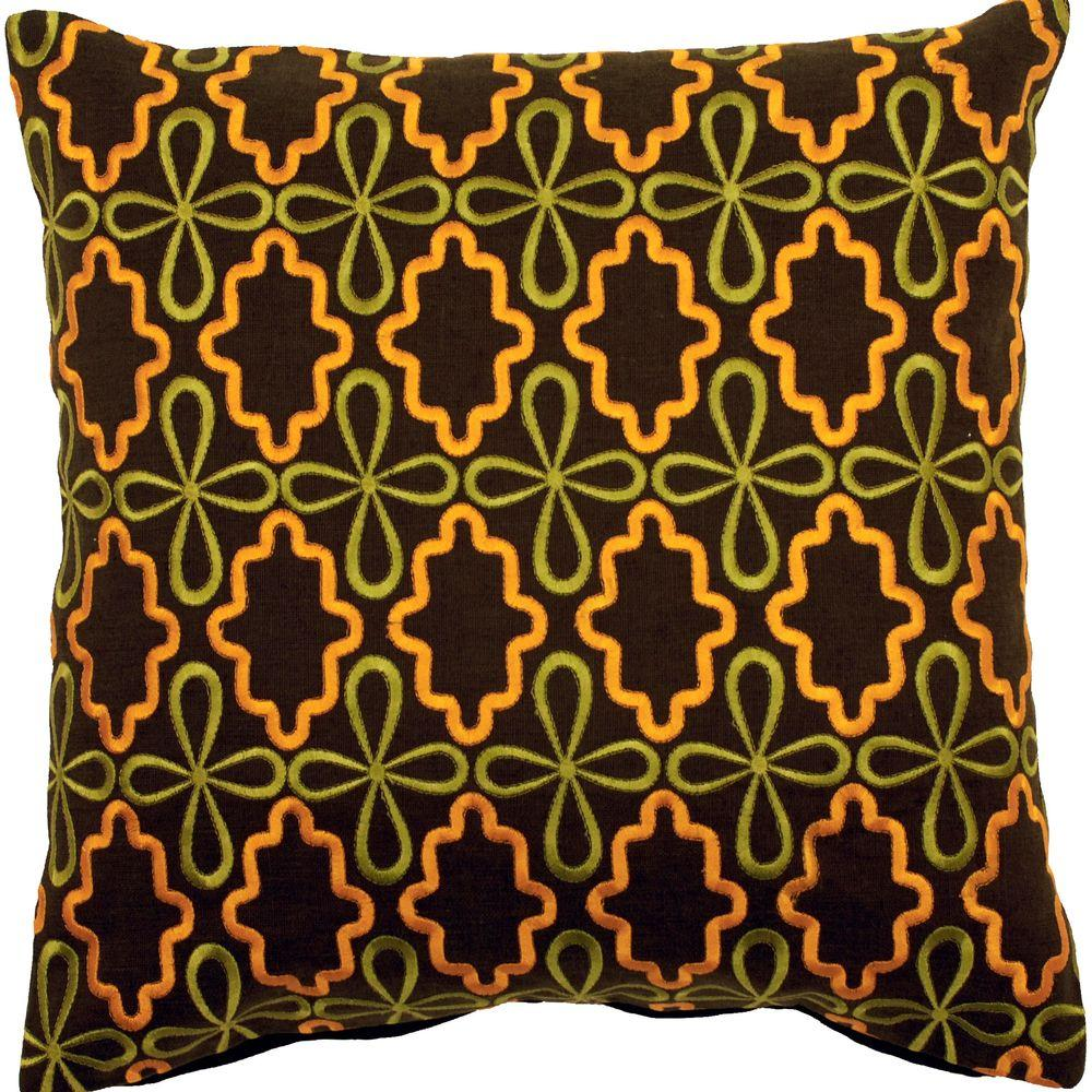 LovelyB 18 in. x 18 in. Decorative Pillow
