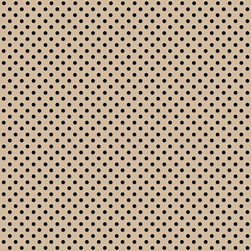 Beige 2 ft. x 2 ft. Perforated Metal Ceiling Tiles (Case