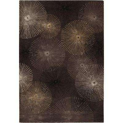 Revello Black/Grey 8 ft. x 11 ft. Indoor Area Rug