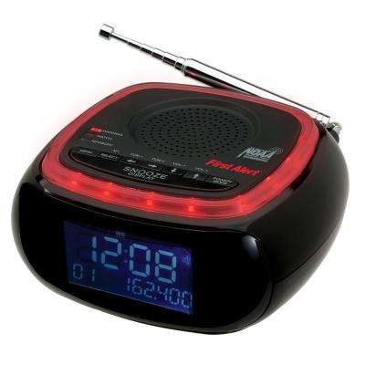 AM/FM Weather Band Clock Radio with S.A.M.E. Weather Alert