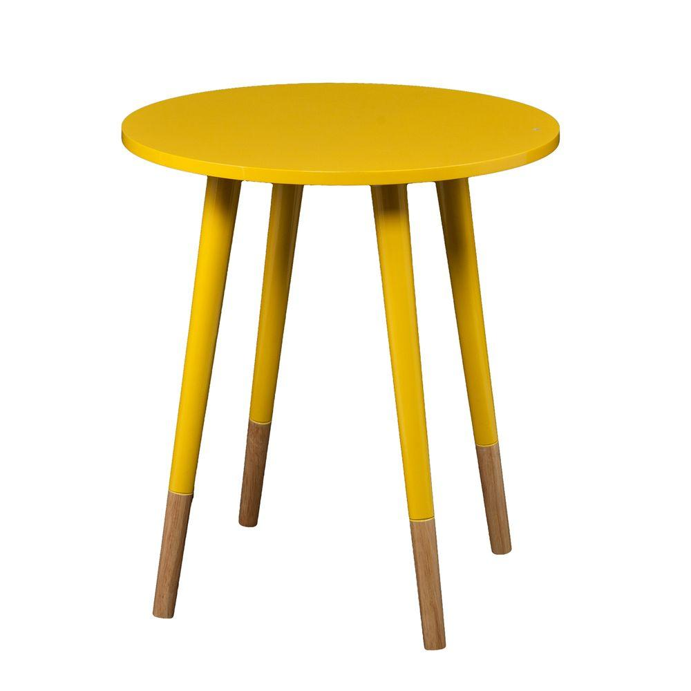 Otsego Yellow End Table