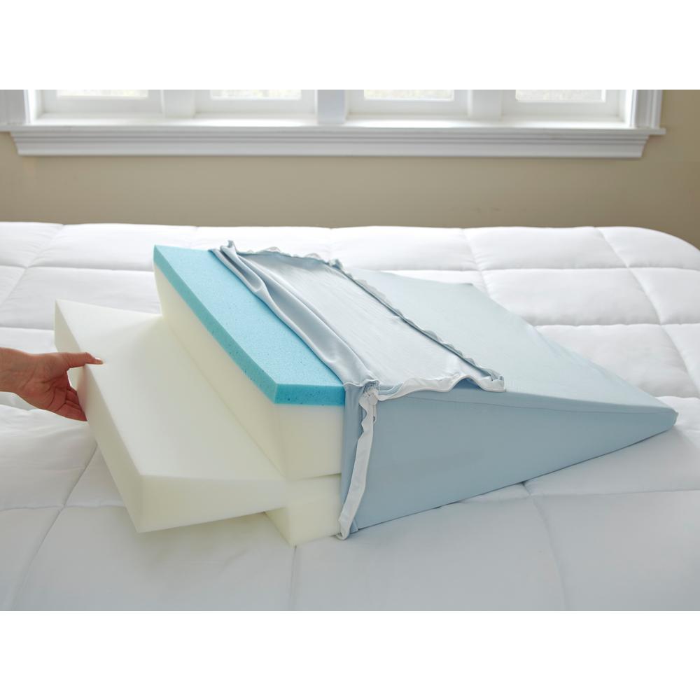 Standard Specialty Gel Memory Foam King Adjustable Wedge Pillow
