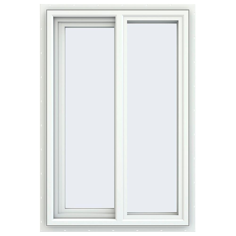 23.5 in. x 35.5 in. V-4500 Series Left-Hand Sliding Vinyl Window