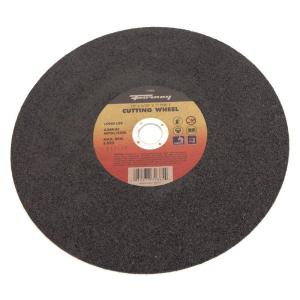 Click here to buy Forney 12 inch x 3/32 inch x 1 inch Metal Type 1 A36R-BF Chop Saw Blade by Forney.