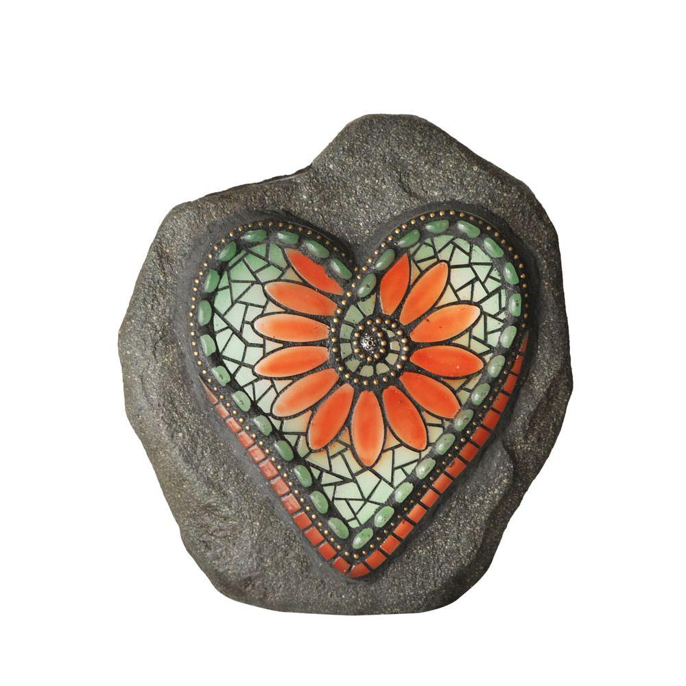 Moonrays Chris Emmert Designs Led Garden Heart 92502 The
