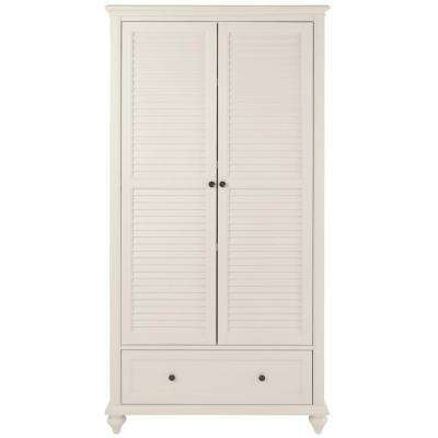 Merveilleux Hamilton 2  Door Polar White Bookcase