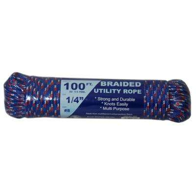 1/4 in. x 100 ft. Braided Utility Rope