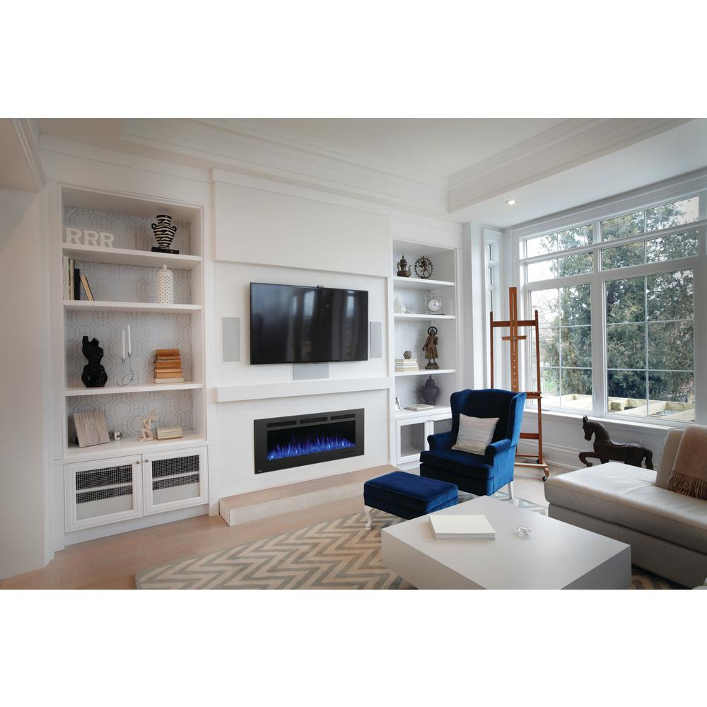 NAPOLEON Allure Phantom 50 in. Wall Mount Electric Fireplace with ...